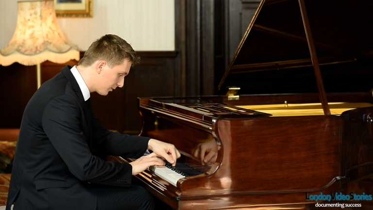 Classical Musical Video Pianist Sergiu Tuhutziu