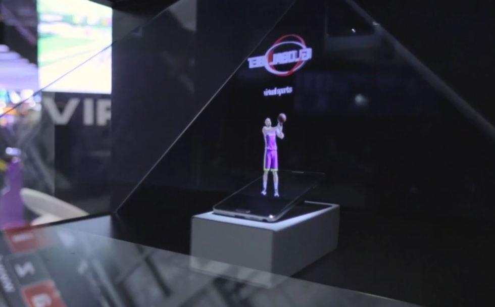 Hologram ICE Totally Gaming Conference London